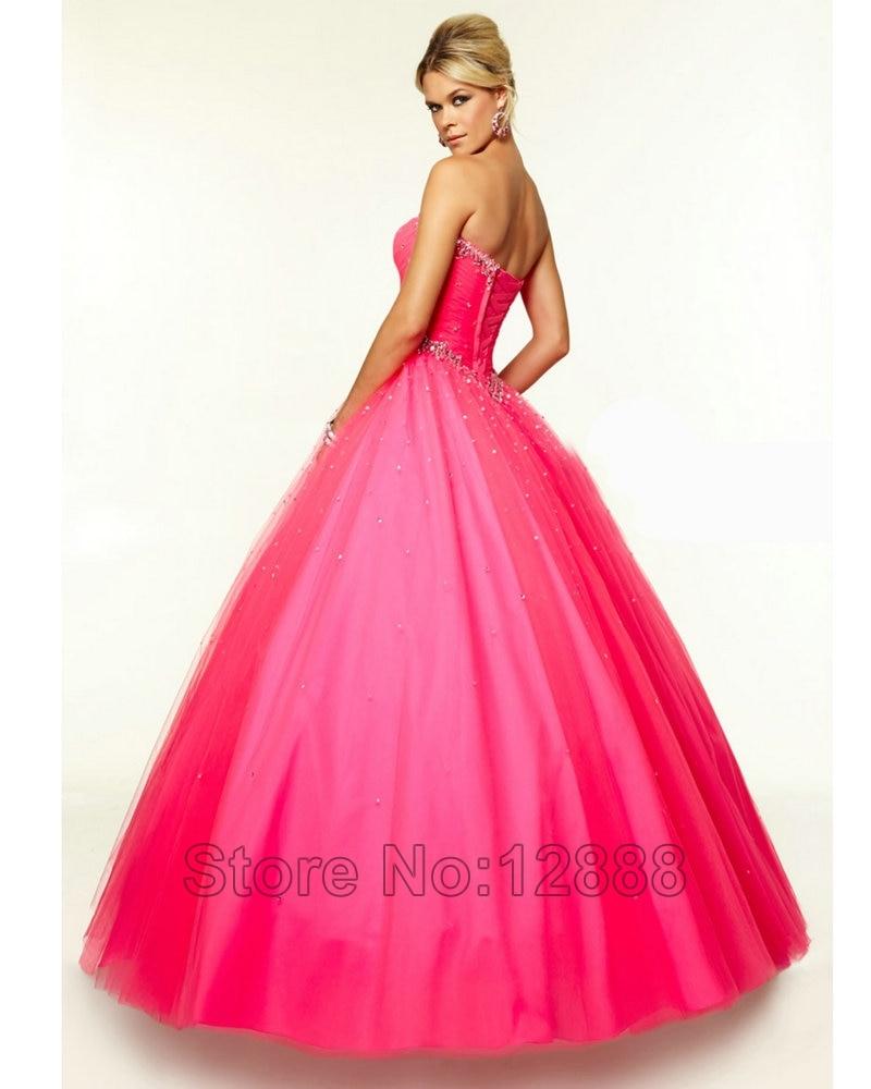 vestidos de fiesta Aqua Prom Dress Tulle Plum Pink Coral 2016 Women ...