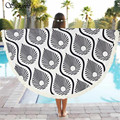 Sunfree 2017 HOT SALERound Beach Pool Home Shower Towel Blanket Table Cloth Brand New High Quality Jan 17