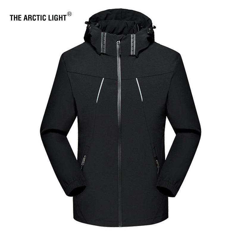 THE ARCTIC LIGHT Outdoors Spring Autumn Men Women Thin Windproof Hiking Jacket Four Seasons Mountaineering Multi-function Jacket