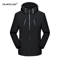 THE ARCTIC LIGHT Outdoors Spring Autumn Men Women Thin Windproof Hiking Jacket Four Seasons Mountaineering Multi function Jacket