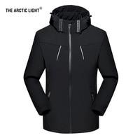 THE ARCTIC LIGHT Outdoors Spring Autumn Men Women Thin Windproof Hiking Jacket Four Seasons Mountaineering Multi function Jacket