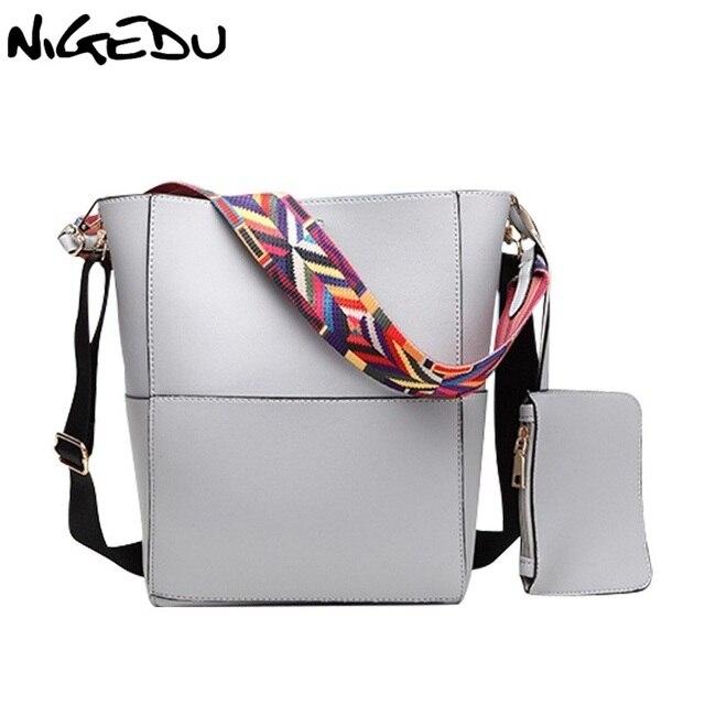 ... Designer Female Gold Buckle Small. Color wide shoulder straps Shoulder  bag for Large Women handbags leather messenger bags european style women s f0814f13cf