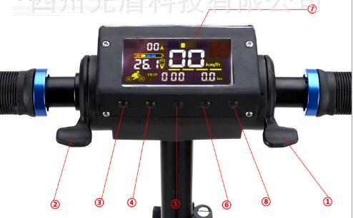 Display for KUGOO electric scooter