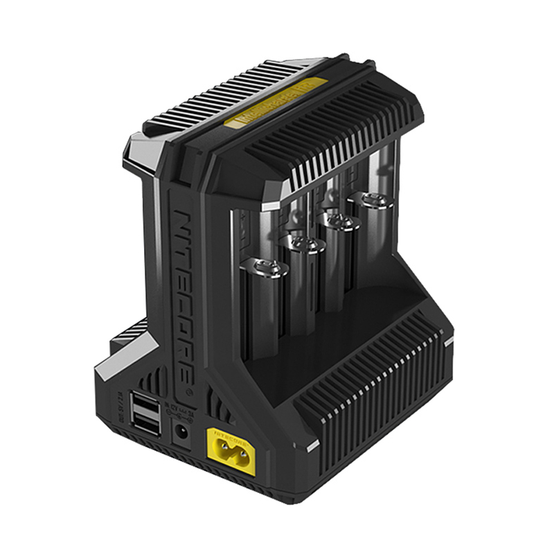NITECORE I8 Multi-slot Intelligent Charger 8-Bay Smart Charger for IMR18650 16340 10440 AA AAA 14500 26650 and USB Device
