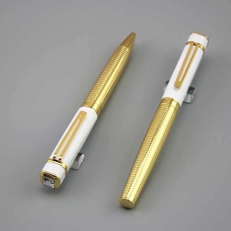 Dkw Ballpoint Pen Metal Caneta School Office Supplies Man Women Luxury Roller Ball Pens Business Gift