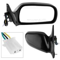 Universal Car Left Side Mirror Auto Left Hand Passenger side LH Mirror for 97 01 Toyota Camry CE/LE/XLE Sedan 4 Door