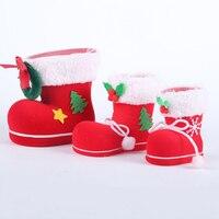 Christmas Tree Pendant Ornaments Boots Decorations Home Santa Sack Gifts Weihnachten 2016 Navidad