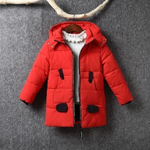 -30 Degree Childrens Winter Jackets Duck Down Padded Children Clothing 2018 New Boys Warm Coat Thickening Outerwear