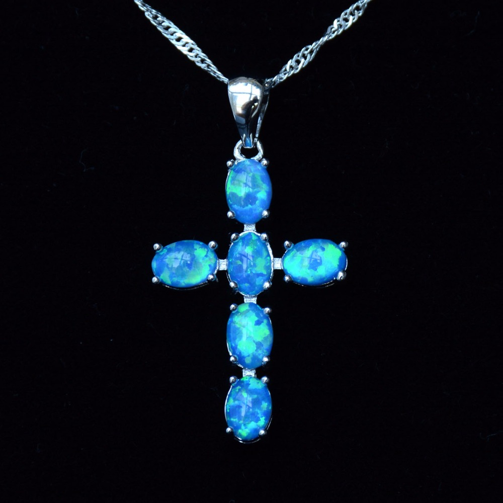 product guangzhou silver detail pendants fire opal pendant wholesale factory blue jewelry