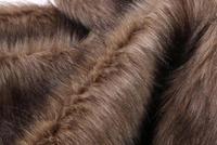 Commercio all'ingrosso 2 colori Spesso imitazione di tessuti di lana peli di cane cappotto peluche decorativo vestiti di prestazione Processo COSPLAY tessuti B340