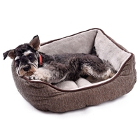 High Quality Dog Bed Luxury Pet House Winter Warm Thick Bed For Cat Puppy Kennel Super