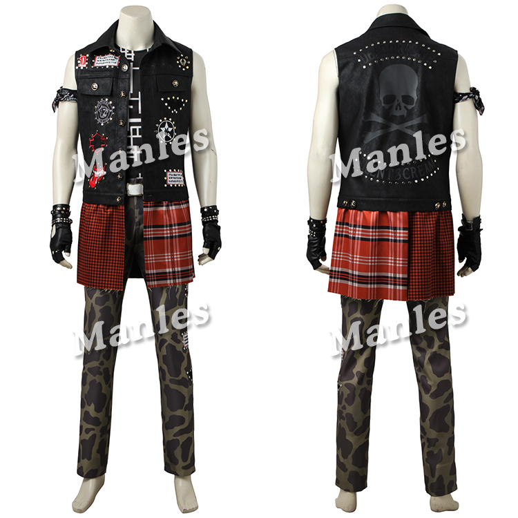 Hot Anime Game Cosplay Final Fantasy XV Prompto Argentum Costume Clothing Halloween Christmas Men Suit Male Custom Made (3)