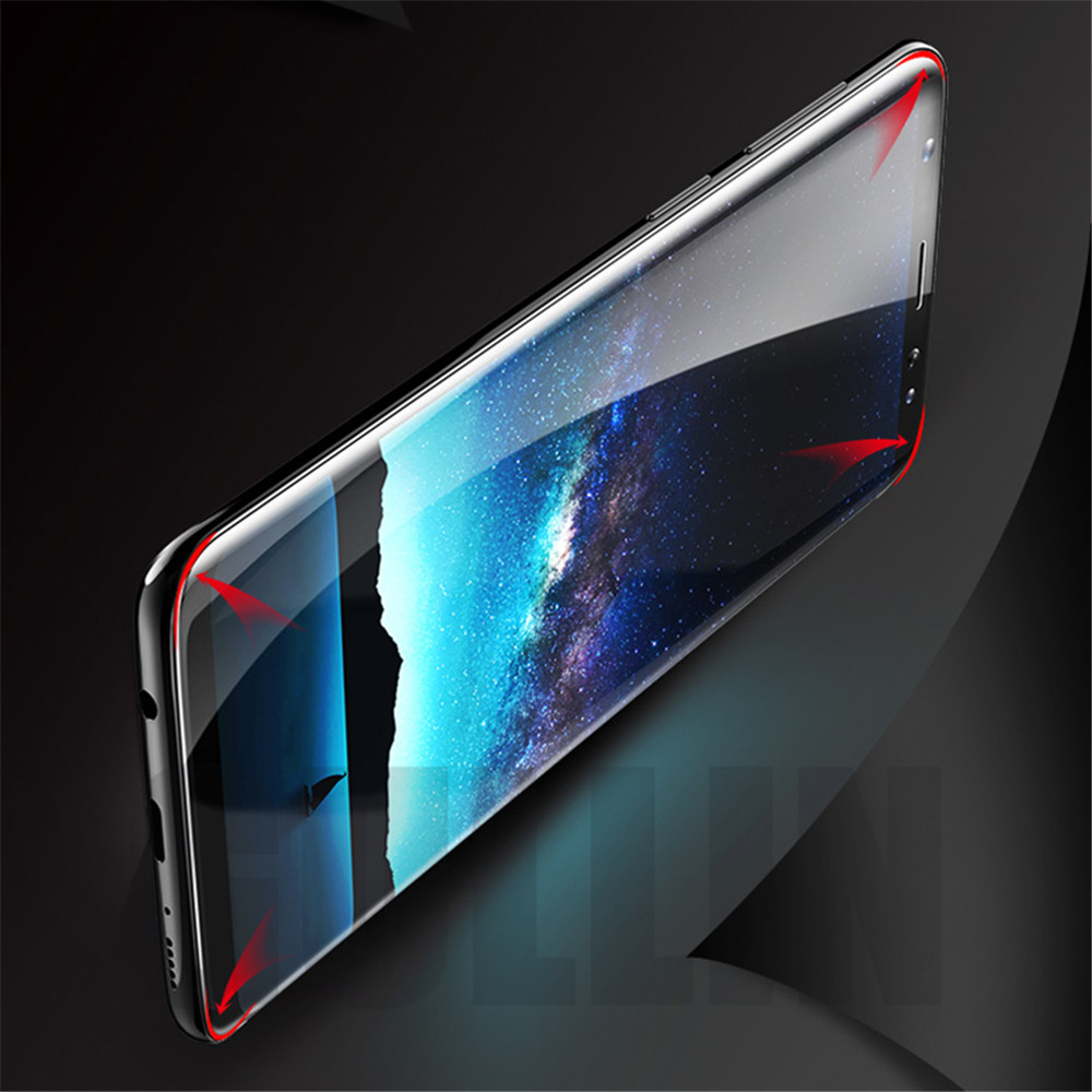 3D Curved soft upgrade Screen Protector Film For Samsung Galaxy S7 Edge S8 9 Plus Full Cover For Samsung Note 8 film Not Glas in Phone Screen Protectors from Cellphones Telecommunications