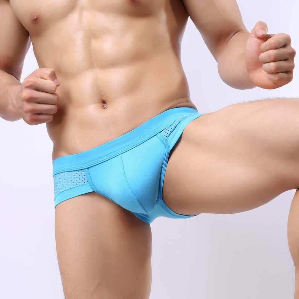 EXILIENS סקסי גברים תחתוני תחתוני Mens קצר מודאלית Ropa הפנים Hombre להחליק הומו Calzoncillos Sous Vetement גודל L-3XL 111901