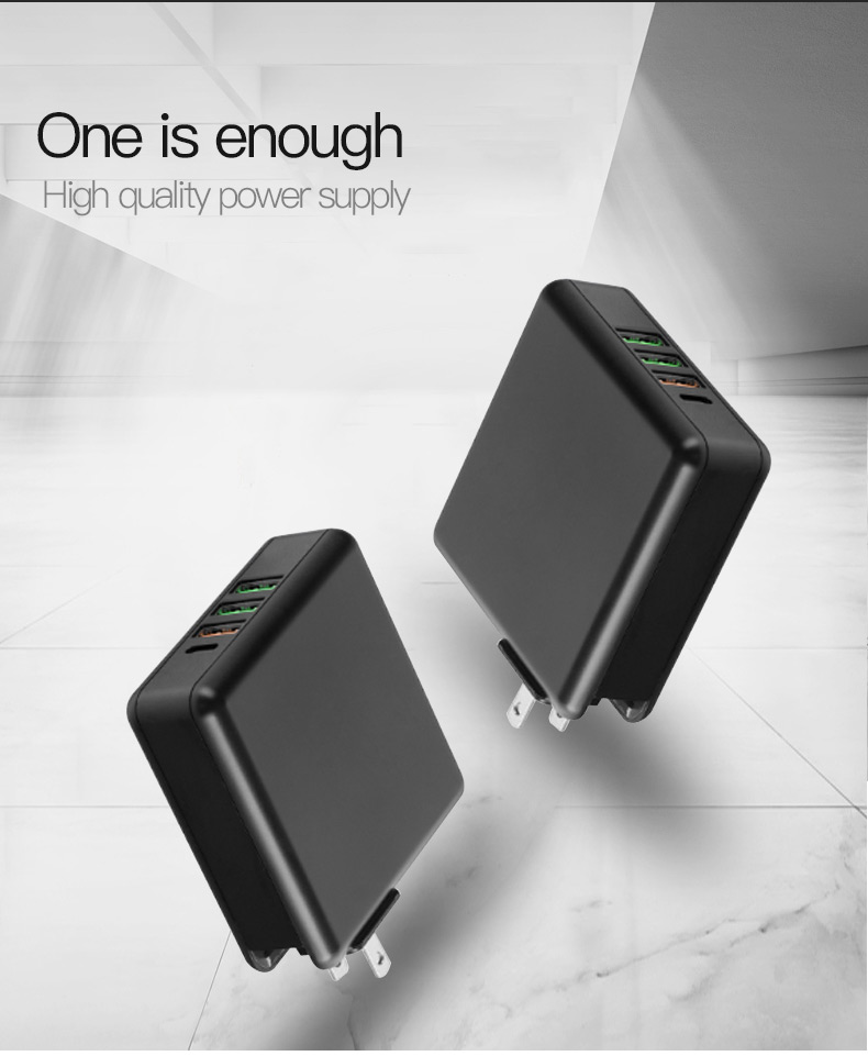 Quick Charge 3.0 Phone Tablet USB Charger (3)