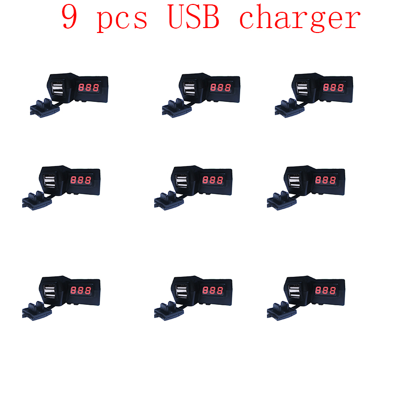 Car cigarette lighter usb adapter plug for car cigarette lighter 12v car cigarette lighter socket Motorcycle Dual USB Charger 12v metal 3 in 1 dual usb motorcycle cigarette lighter plug cigarette lighter socket splitter outlet for motorcycle
