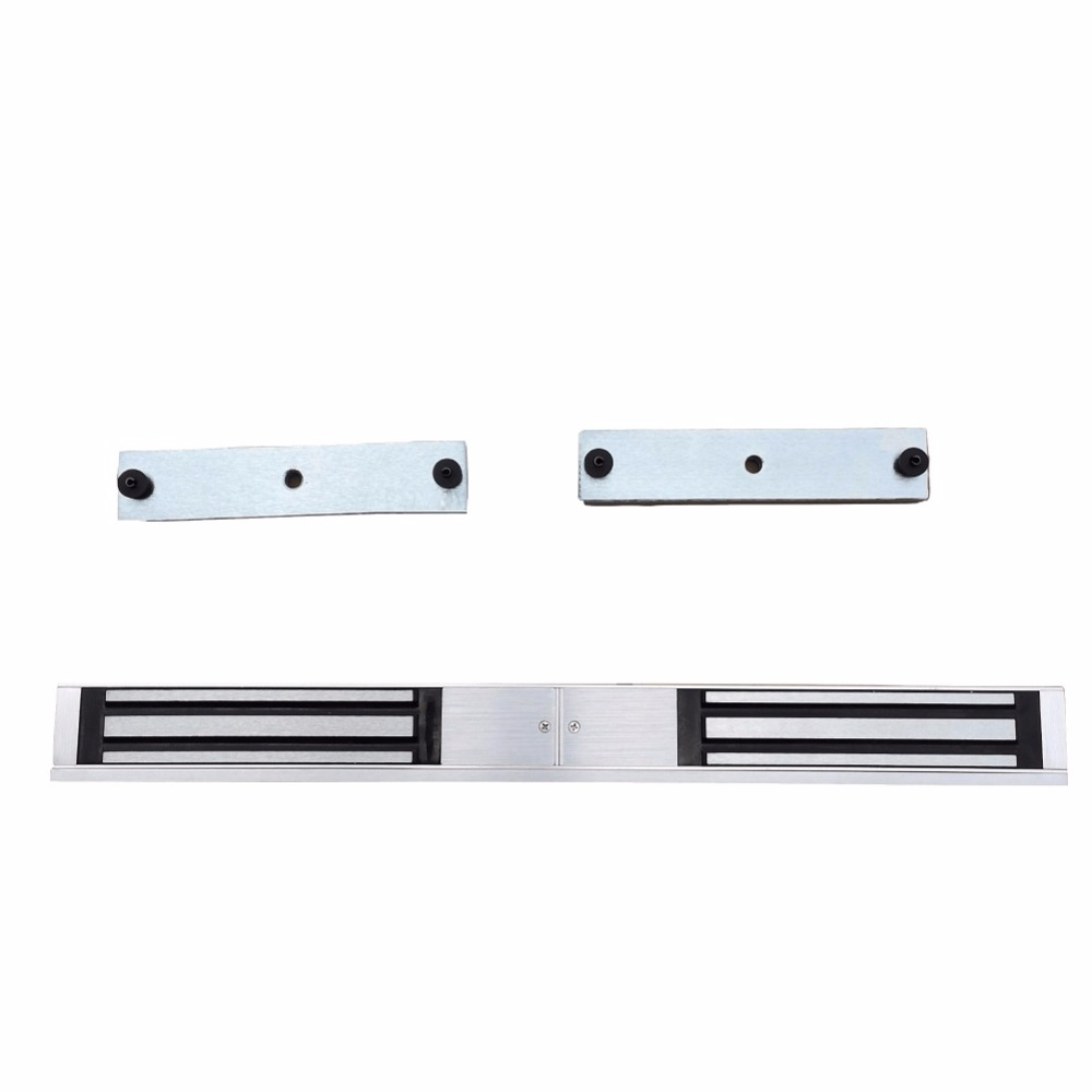 280KG double Door 12V Electric Lock For Door Magnetic Electromagnetic Lock Holding Force For Access Control with LED Light цена