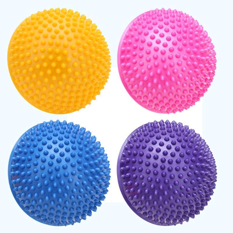 a5c03a548c Meia Bola de Yoga Aptidão Física Aparelho Bolas de Massagem Ponto de Equilíbrio  Bola Exercício Stepping Stones GYM Yoga Pilates 4 Cores Loja Online ...