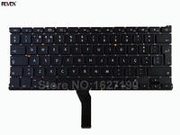Po Portuguese Keyboard Laptop For APPLE Macbook Air A1369 13 BLACK For 2010 For Backlit Repair