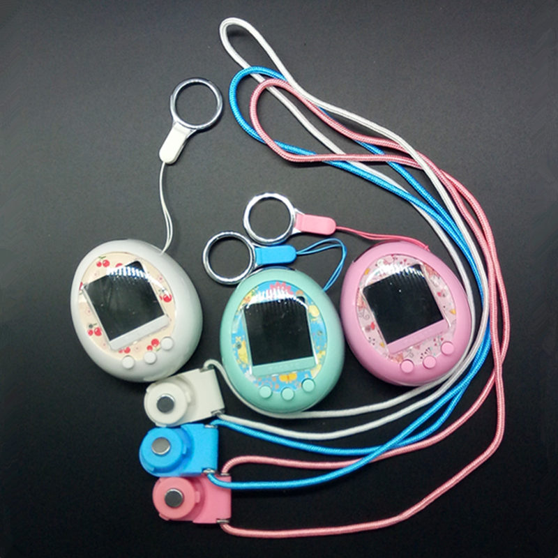 NEW 90s Color Display Nostalgic Game Machine Electronic Virtual Cyber Tamagochi Elves Of Pet Kids Gift Color Screen Pet Game Toy
