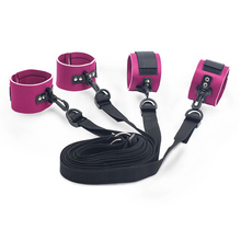 Adult Games Ankles and Cuffs Restraint Belt Set