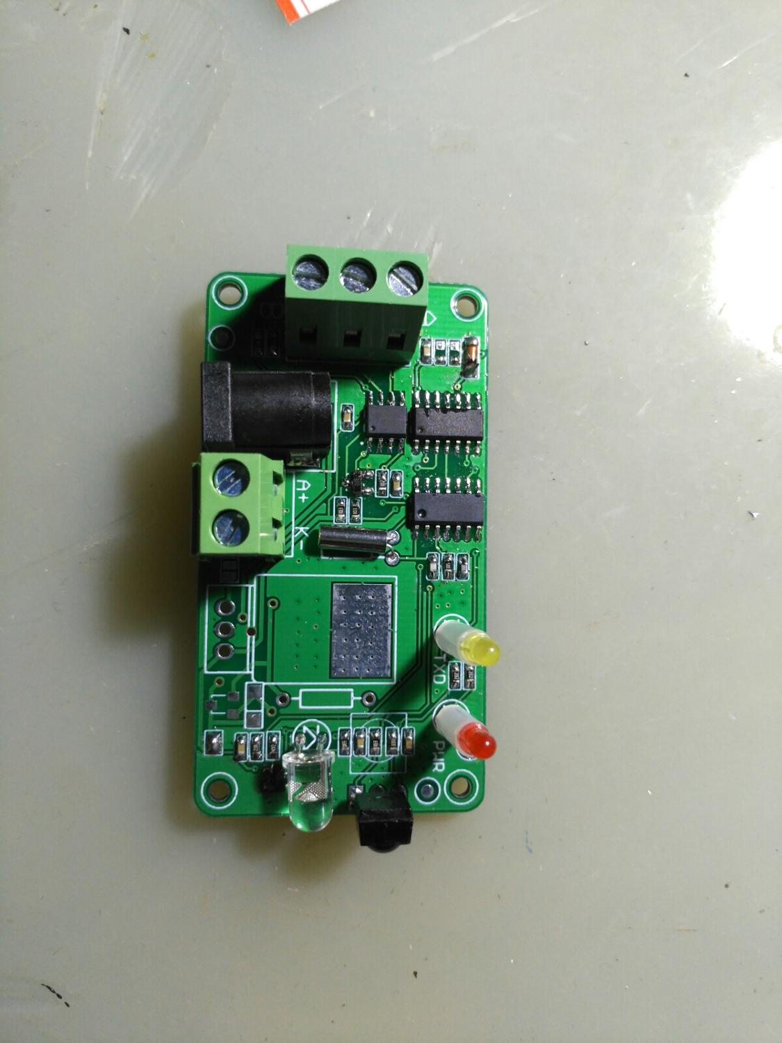 RS485 to infrared meter reading, transmission through communication meter, data acquisition, infrared communication, smart home