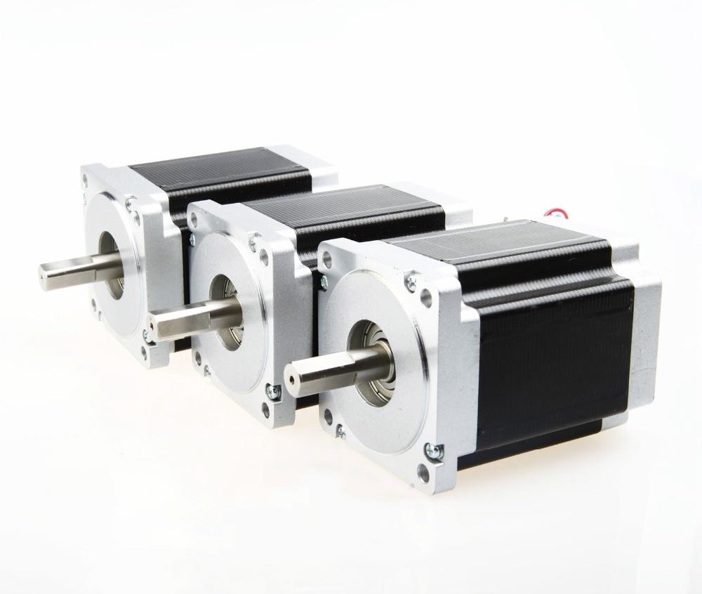 "287oz-in 3.0A 1//4/""Shaft 3D Printer Milling 10PCS Nema23 Stepper Motor 57BYGH627"