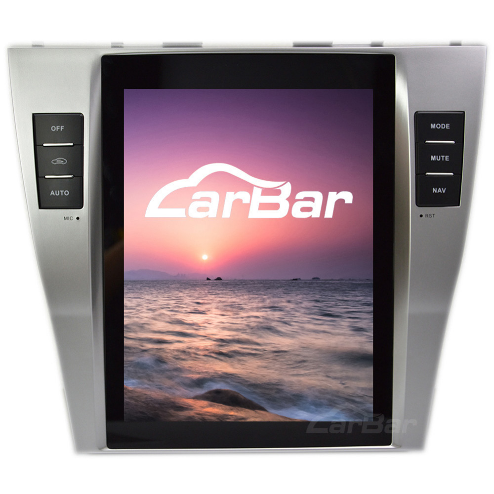 10.4 Vertical Screen Tesla Style 1024*768 Android Car DVD GPS Navigation Radio Audio Player for Toyota Camry 2006 2012
