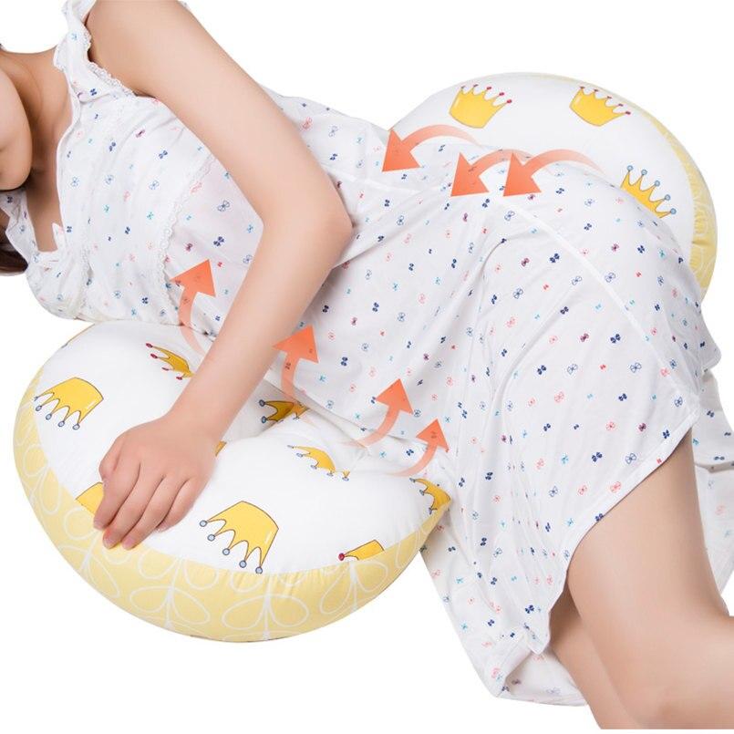 Multi-funktion Schwangere Frauen Kissen U Typ Bauch Unterstützung Seite Schwellen Kissen Schwangerschaft Kissen Schützen Taille Schlaf Kissen