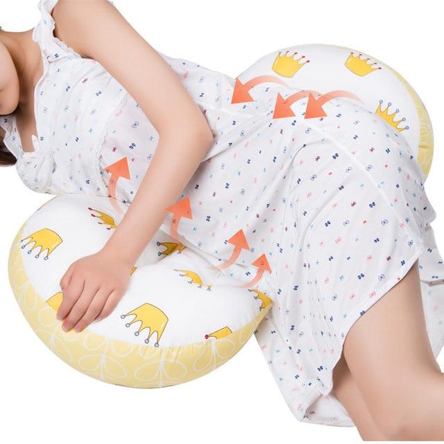 Многофункциональная Женская Подушка u-типа поддержки живота боковые шпалы Подушка для беременных и кормящих защита талии подушка для сна