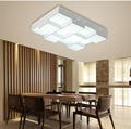 Светодиодные акриловые кубические потолочные лампы для дома  гостиной  спальни  лампа для учебы  бизнес место  внутреннее освещение  потоло...