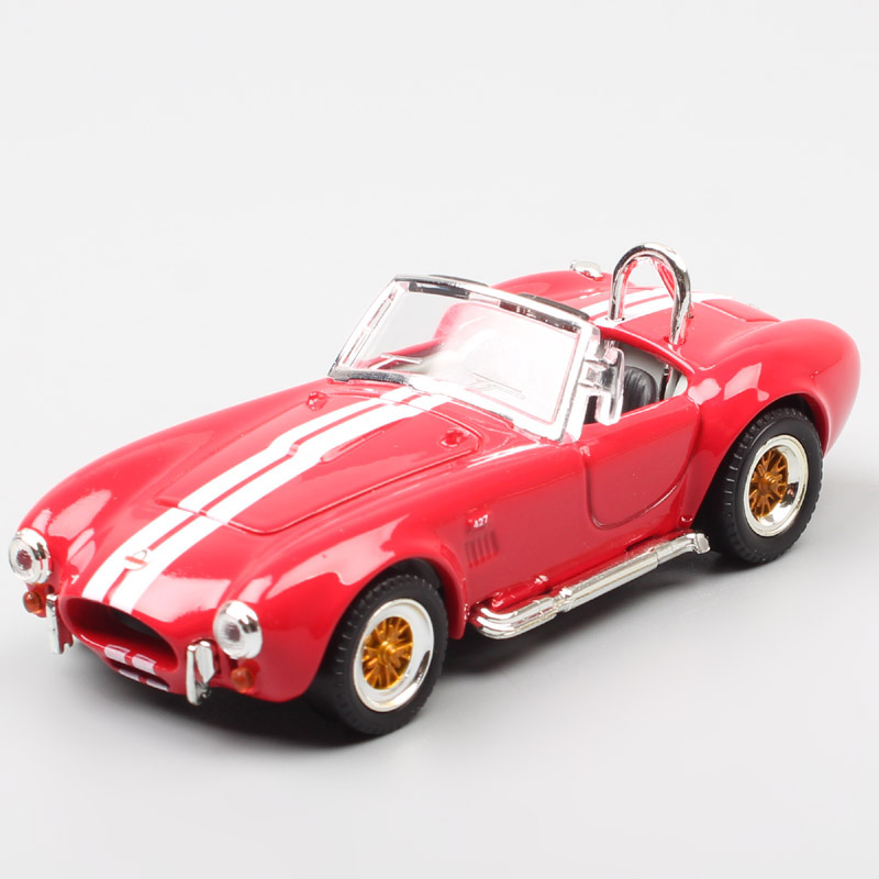 1/43 Scale <font><b>vintage</b></font> 1964 Ford SHELBY COBRA 427 S/C AC Cobra roadster sports mini car <font><b>diecast</b></font> & vehicles model souvenir toy of kid image