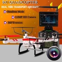 Original WLtoys V686G Drone Dron Toys 5 8G FPV 2 4GHz 4CH Auto Pathfinder 3D Eversion