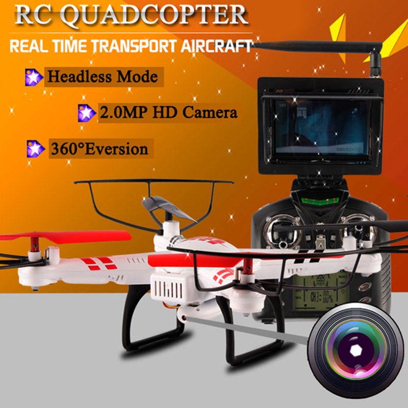 WLtoys V686G FPV RC Drones With HD Camera Wltoys V686 Dron Professional RC Quadcopters With Camera RC Flying Camera Helicopter