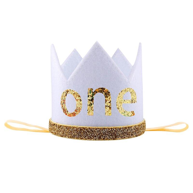 Patrón de la corona Del Bebé Niños Venda Del Pelo Del arco Diadema ...