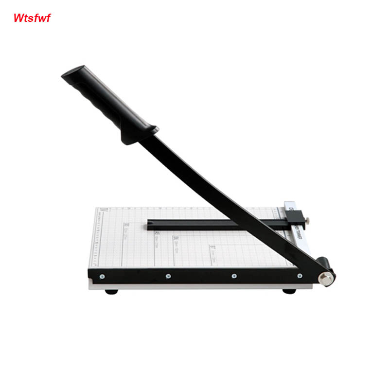 Wtsfwf Manual Paper Cutting Machine A4 Paper Cutter A4 Paper Guillotine Cutter Manual Paper Trimmer for jielisi 909 5 a4 guillotine ruler paper cutter trimmer cutter black orange k400y dropship