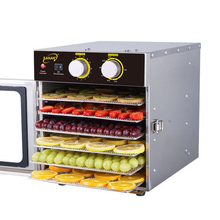 Level 6 Stainless Steel Dried Fruit Machine Food Dehydrator Household Vegetables Pet Meat Food Dehydration Dryer