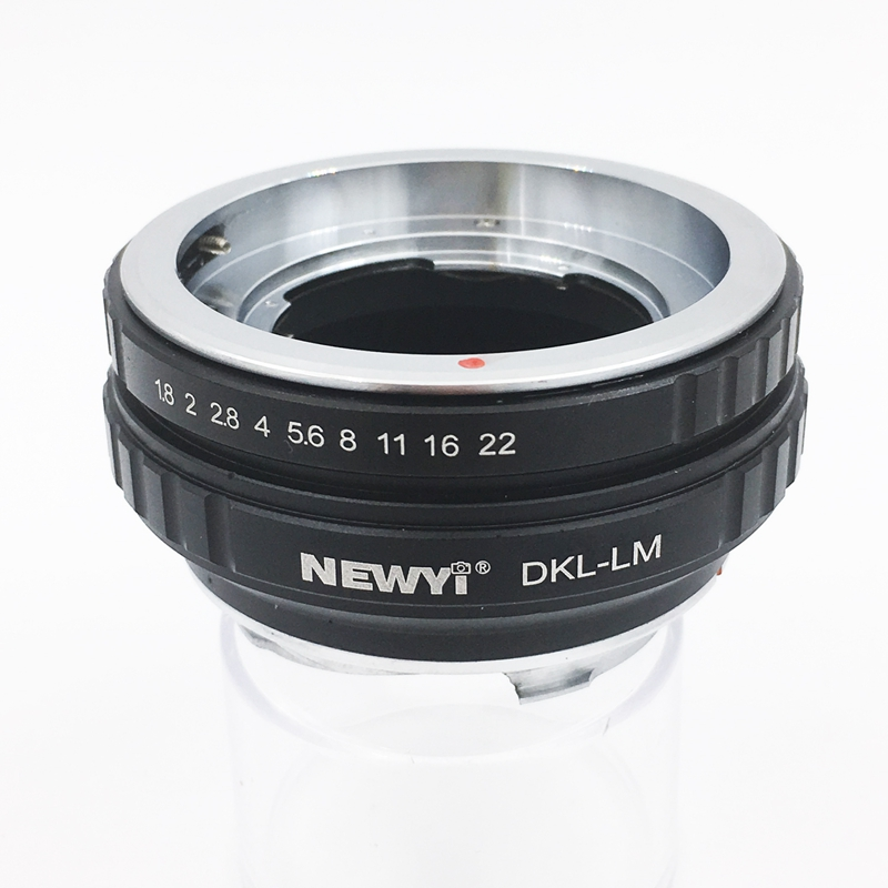 Image 3 - NEWYI Lens Adapter For Dkl Lm Voigtlander Retina Deckel Lens To L eicam With Techart Lm Ea7 Camera Lens Ring Accessories-in Lens Adapter from Consumer Electronics