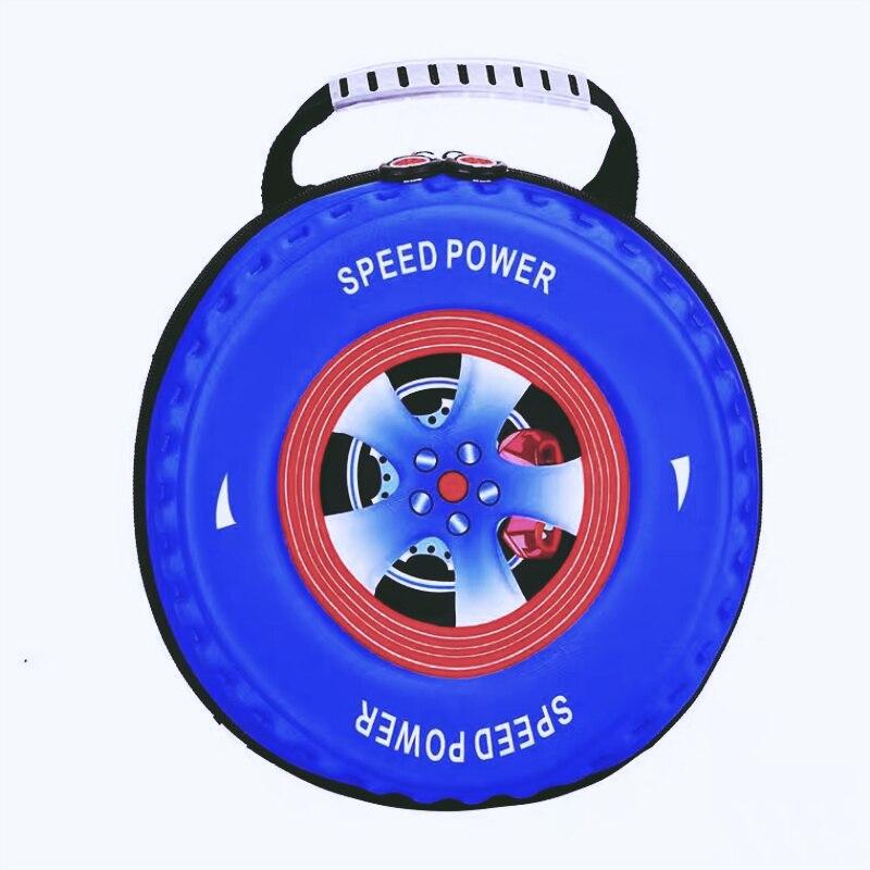 Nueva individualidad 3D Neumático de coche Mochila de dibujos - Mochilas