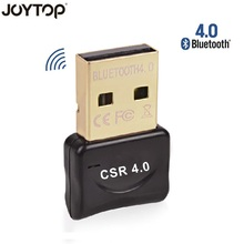 JOYTOP Bluetooth Adapter USB Dongle for Computer PC Wireless Mouse Bluetooth Speaker 4.0 Music Receiver USB Bluetooth Adapter