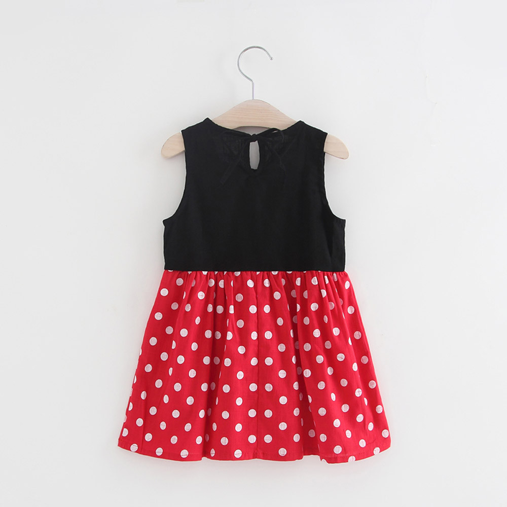 2019 Girls Dress 100% Cotton Summer Print Teenagers Dresses for Girls Designer Princess Party Dress Baby Kids Party Wear 1-13Y