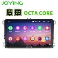 JOYING Octa Core 2gb Ram 32gb Rom 8 Core Android Autoradio For Skoda SuperB Rapid Stereo