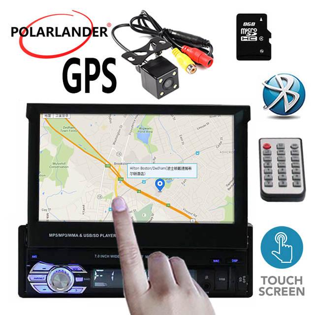 1 din Car Radio 7 inch Autoradio Bluetooth Stereo FM USB TF