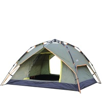 3 4 People Automatic Openning Camping Tents Double Layers Portable Tents Anti Uv Professional Windproof Waterproof Tents AA12031