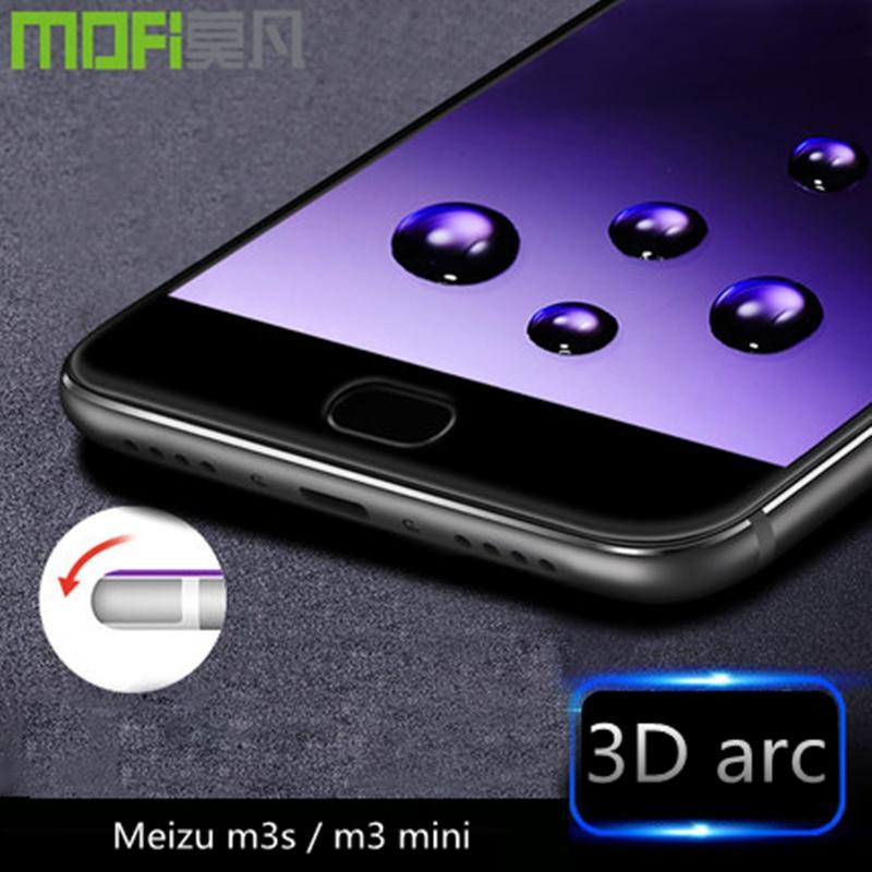Цена за Meizu M3s закаленное стекло 32 ГБ Meizu M3 mini Full Cover 3D фильм Meizu m 3 стекло 16 ГБ Антибликовая 9 h ультра-тонкий
