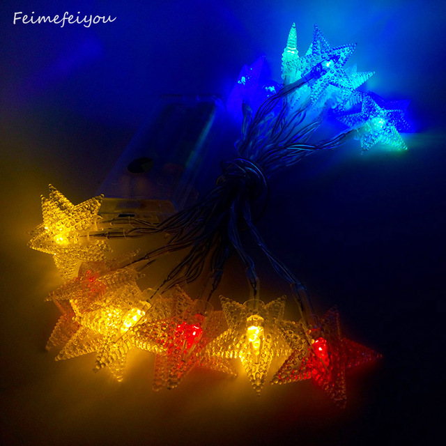 Feimefeiyou 2M 20LEDs Battery Operated String Fairy Lights LED ...