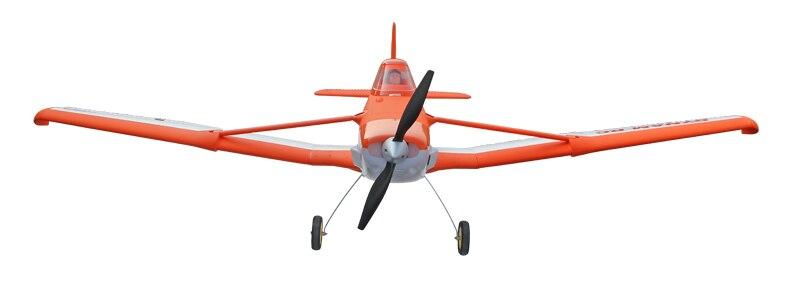 все цены на Dynam 1500MM Orange Cessna 188 RC PNP/ARF Propeller Plane W/ Motor ESC Servos онлайн
