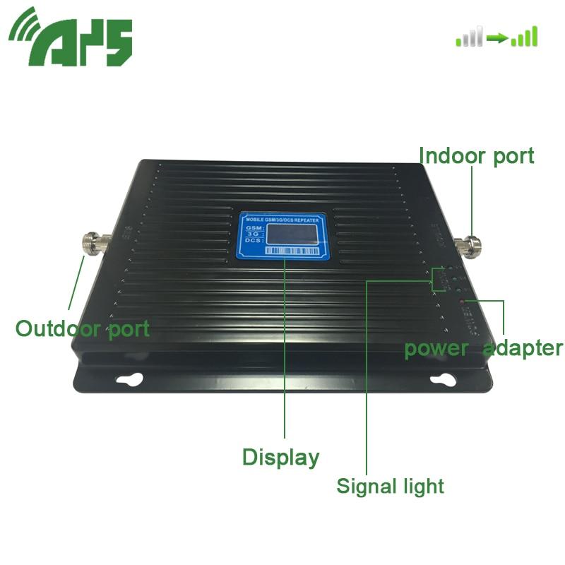 900 1800 2100 MHZ amplificateur de Signal GSM LTE UMTS 2G 3G 4G Tri bande amplificateur de Signal de téléphone portable répéteur de signal Mobile