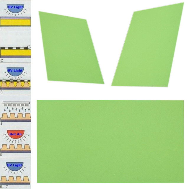 1 unid Placa De Fotopolímero Sello De Goma 20*30 cm Arte de La Fabricación De Polímeros Letterpress Die Artesanías de BRICOLAJE Para La Impresión industria Mayitr
