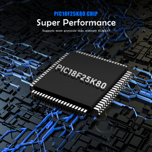 Image 4 - (10 pces) elm 327 v1.5 obd2 odb2 scanner bluetooth para android elm327 v1.5 pic18f25k80 obd obd2 ferramenta de scanner diagnóstico do carro automático